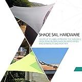 Cosweet 18pcs Shade Sail Hardware Kit- Ranging 4.45