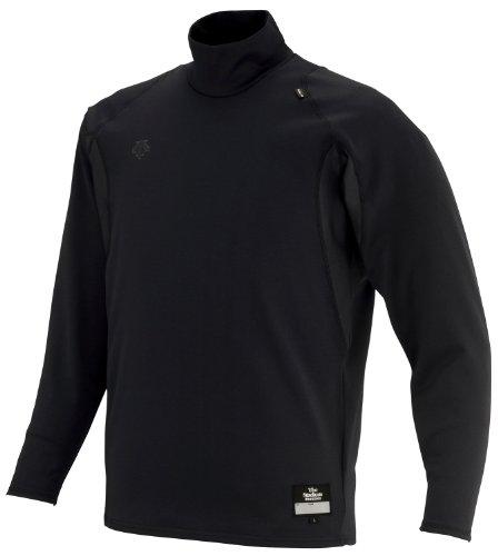 DESCENTE(데상트) 야구 언더 셔츠 하이넥 긴 소매 릴랙스 피트 셔츠 STD-652
