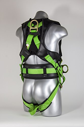 Guardian Fall Protection 193191 M-XL Monster Edge Harness with Side D-Rings by Guardian Fall Protection (Image #3)