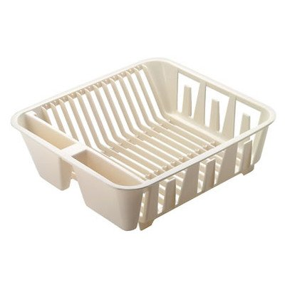 Rubbermaid 6049ARWHT Twin Sink Dish Drainer ()