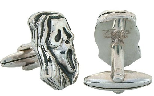 ZAUNICK Halloween Cufflinks Sterling Silver