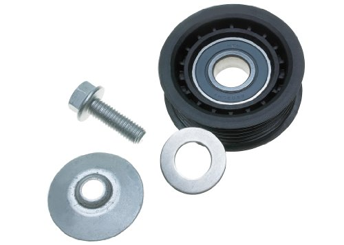 ACDelco 36079 Professional Flanged Idler Pulley with Bolt, Dust Shield, and Washer ()