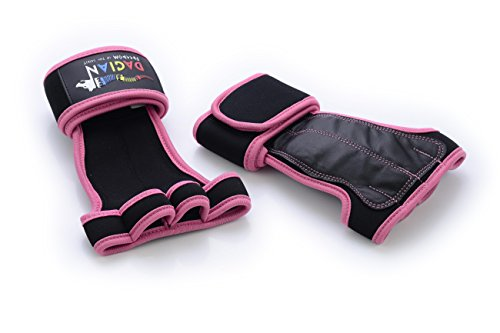 Cross Training Premium Leather Gloves with Wrist Support - For Pull Ups, Gymnastics, Workout, Fitness, WODs, Kettlebells | No Calluses, Weight Lifting Durable Grips | Best Model For Women (XLarge)