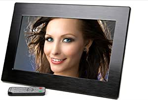 Micca M1010z 10.1-Inch 1024x600 High Resolution Digital Photo Frame With Auto On/Off Timer, MP3 and Video Player (Black)