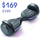 TOMOLOO Hoverboards with Bluetooth and LED Lights, 7.5 Miles Range Hover Boards, UL Certified Self Balancing Hoverboard for Kids and Adults