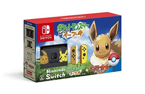 Nintendo Switch本体 ポケットモンスター Let's Go! イーブイセット (モンスターボール Plus付き)