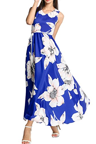 ACEVOG-Women-V-Neck-Sleeveless-Floral-Print-Long-Maxi-Swing-Dress