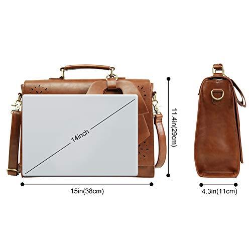 acquisto borsa di della dell'università a spalla a pollici di moderne del messaggero del donne borsa computer delle dell'ufficio 14 tracolla portatile a Lifewit Borse viaggio wF16pxRqg6