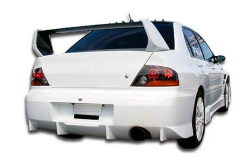 Evo 8 Spoiler (2002-2007 Mitsubishi Lancer / 2003-2006 Mitsubishi Lancer Evolution 8 9 Duraflex Evo 8 Wing Trunk Lid Spoiler - 1 Piece)