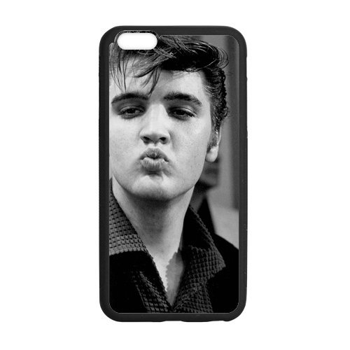 Fayruz-[6 Plus & 6S Plus Case] Hard Protective Rubber Case for iPhone 6 Plus 6S Plus - Elvis Presley -I6SP03