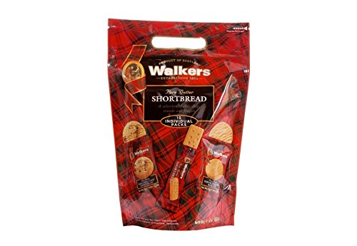 Walkers Pure Butter Assorted Shortbread Sharing Bag 180g