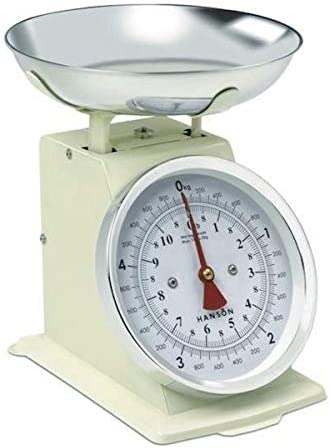 Opinión sobre As Direct Ltd TM - Báscula de cocina mecánica (5 kg) crema