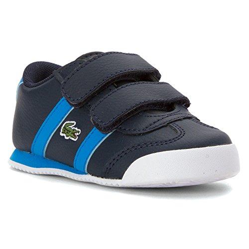Lacoste Mens Hook - Lacoste Boy's Tourelle CLC Toddler Dark Blue/Blue 8.5 M
