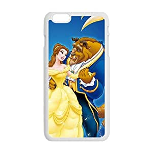 Beauty and the Beast fashion plastic phone case for iPhone 6 plus