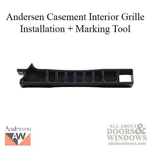 Andersen Perma-Shield Casement Windows - Interior Grille Installation / Marking Tool