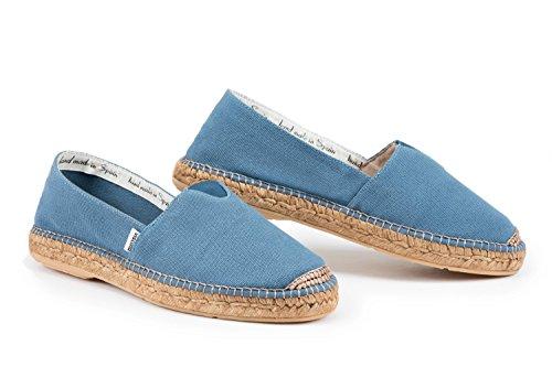 donna interna Espadrillas Barceloneta per originali da comfort con maggiore Viscata elastico Blue cucitura A4tqnwf