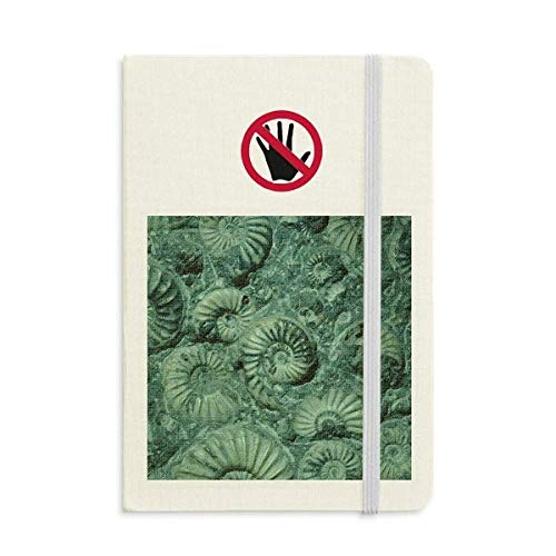 Nautilus Ammonites Fossils Specimen Secret Notebook Classic Journal Diary A5