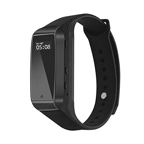 Sport Bracelet Hidden Camera 1080P Smart Bracelet Spy Camera HD Mini Video Camera Wristband with Track Steps,Sleep Quality Monitoring,Sports DV Surveillance Recorder Camcorder