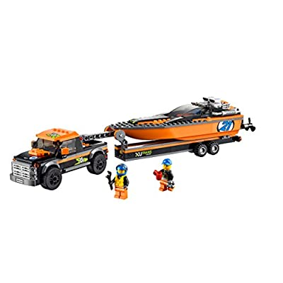 City Great Vehicles Powerboat: Toys & Games