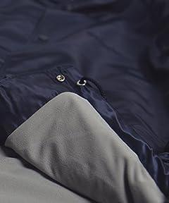 Champion x Freak's Store Baseball Jacket 15531400060: Navy