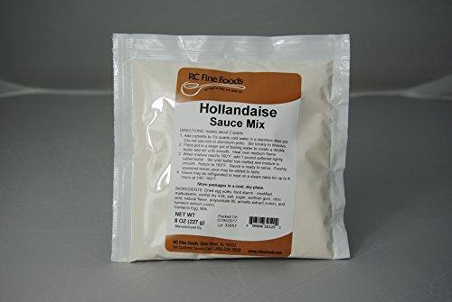 RC Fine Foods Hollandaise Sauce Mix 8 oz. Jar (Case of 12) by RC Fine Foods
