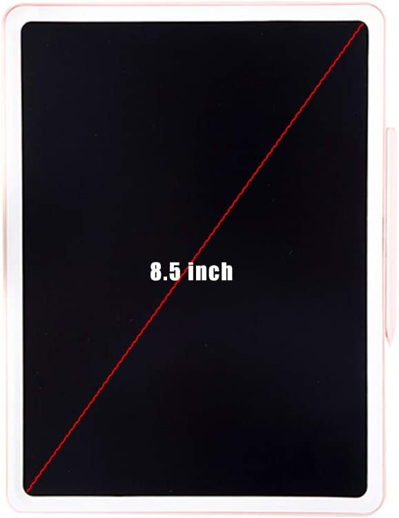 LCD Tablet 8.5-inch Color Screen Portable Electronic Graffiti Board Home Blackboard Childrens Drawing Board Mini Drawing Board Educational Toys Best Gift for Boys and Girls