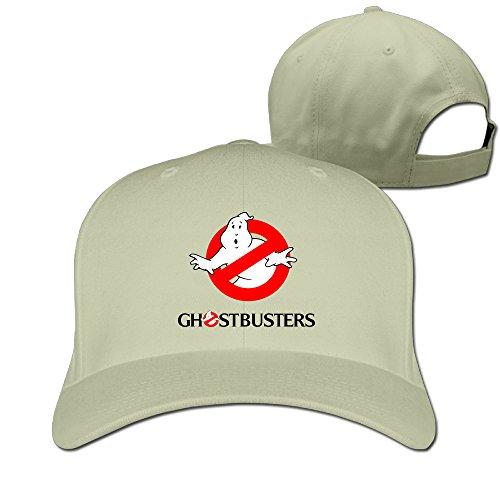 Ghostbusters Fitted Snapback Flat Brim Baseball Cap