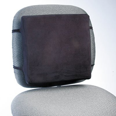 Back Perch w/Fleece Cover, 13w x 2-3/4d x 12-1/2h, Black, 10/Carton, Sold as 1 Carton, 10 Each per Carton by Generic