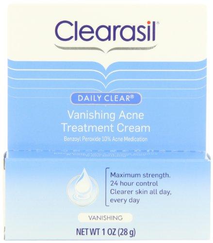 Crème de Soin Clearasil Daily Effacer fuite acné, 1 once (Pack de 3)
