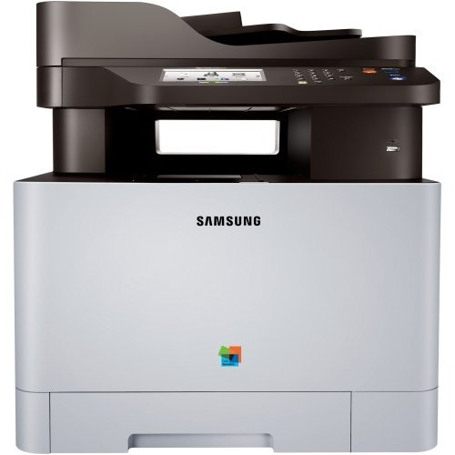 Samsung Xpress C1860fw Laser Multifunction Printer - Color - Plain Paper Print - Desktop - Copier/Fax/Printer/Scanner - 19 Ppm Mono/19 Ppm Color Print - 9600 X 600 Dpi Print - 19 Cpm Mono/19 Cpm Color Copy - Touchscreen - 1200 Dpi Optical Scan - Manual Duplex Print - 251 Sheets Input - Gigabit Ethernet - Wireless Lan - Usb
