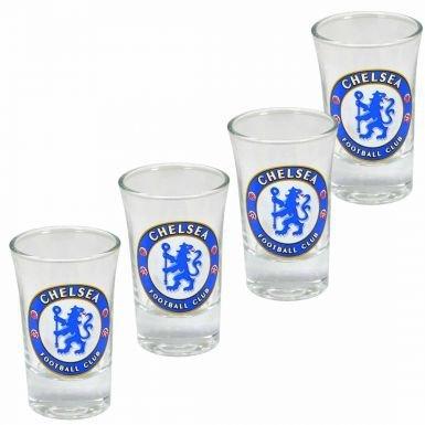 Chelsea FC Shot Glasses (4 - Eyewear Chelsea