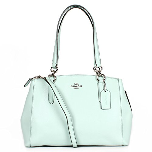 53232b5bd7bbd Coach Small Christie Carryall Crossgrain Leather Satchel-Seaglass - Buy  Online in UAE.