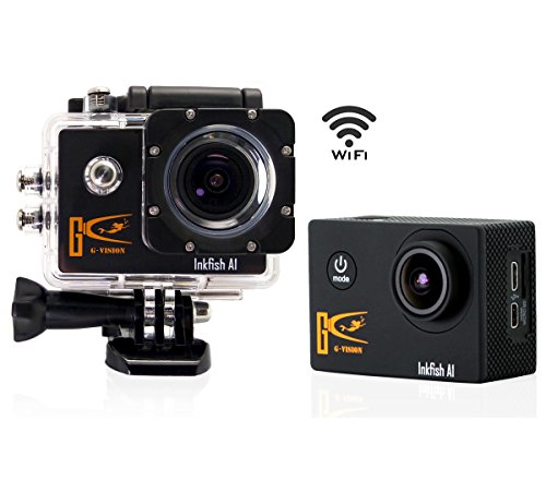 Egovo Sports Action Camera, 1.5 Inch Waterproof Action Camera (12MP 1080P HD+170 Degree Wide Angle Lens +20 FREE...
