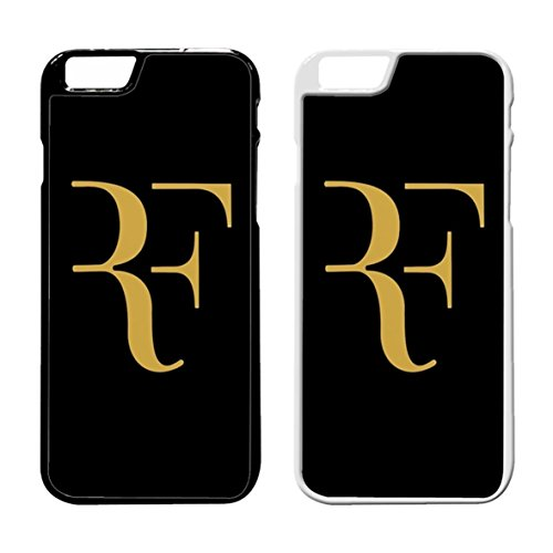 Roger Federer Gold Cover iPhone Case Cover iPhone 7 Case Black Rubber N6S5GMJ