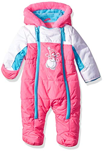 - Wippette Baby Girls Snowman Pram, Knockout Pink, 6/9M