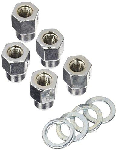Weld Racing 601-1452 Lug Nut (12mm x 1.5 RH Open End with Washers (5pk)) (Racing Weld Lug Nuts)