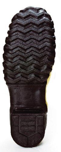 Ranger Flex-vakt Sikkerhet Pac 16 Heavy Duty Menns Gummi Metatarsal Støvler Med Stål Tå Og Stål Mellomsåle, Oliven / Gul Og Sort (2169)