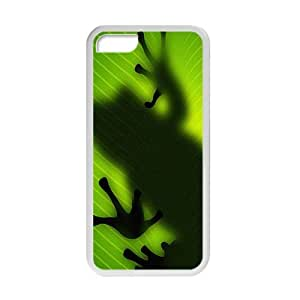 meilz aiaiQQQO Popular Frog Cell Phone Case for Iphone 5Cmeilz aiai