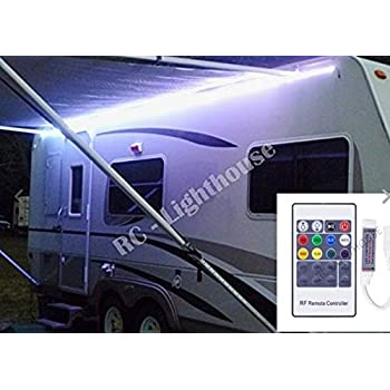 Amazon.com: RV Awning Camper 16.4ft RGBWW Color Changing