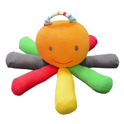 Under the Nile Stripes and Brights Scraptopus Toy in Multi ()