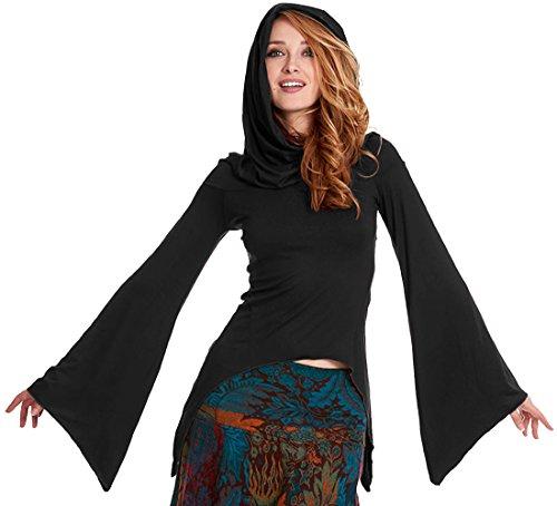 Gekko - Camiseta de manga larga - para mujer negro