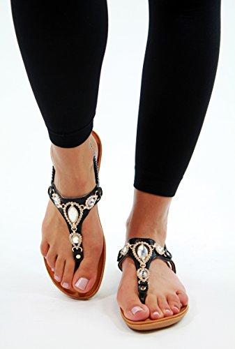 Generic - Zapatos de tacón  mujer negro
