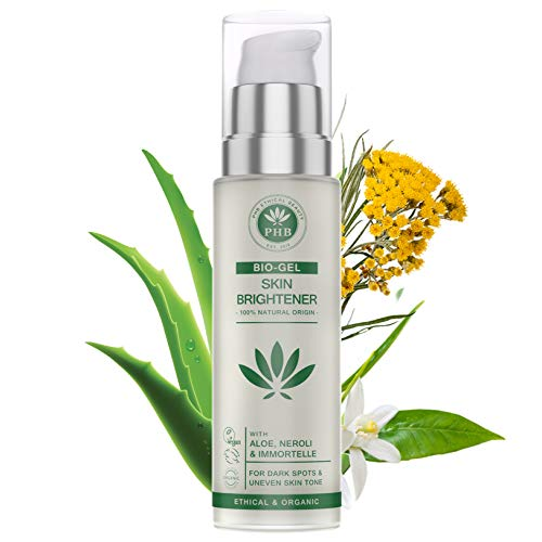 PHB's Dark Spot Corrector. A 100% Natural and Organic Gel for Sensitive Skin Types. 50ml (Best Bleach For Sensitive Skin)