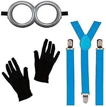Robelli Niños FÁBRICA OBRERO Disfraz Traje (Gafas de protección ...