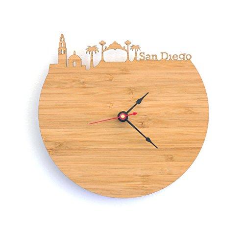 San Diego Skyline Clock