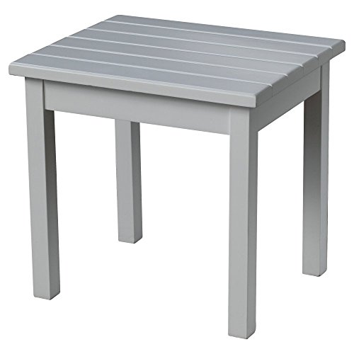 Hinkle Chair Company Painted Plantation Porch Side Table, White (Table Side Rocking)