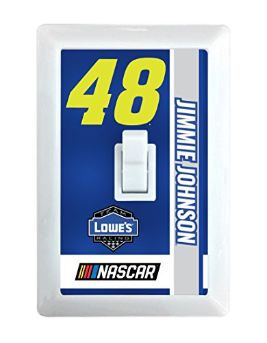 Jimmie Johnson #48 LED Light Switch