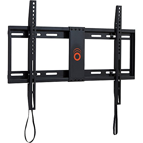 ECHOGEAR Low Profile Fixed TV Wall Mount Bracket for most 32-80 inch TVs - Holds TV 1.25