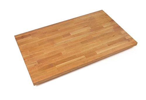 - John Boos CHYKCT-BL3625-O Blended Cherry Counter Top with Oil Finish, 1.5