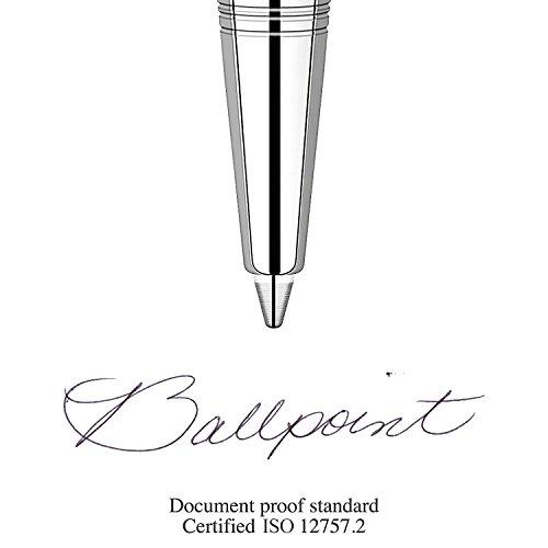 Parker QUINKflow Ballpoint Pen Ink Refills, Fine Tip, Black, 6 Count Value Pack (2025155) by Parker (Image #4)